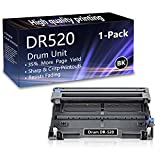 1 Pack (Black) DR520 Drum Unit Replacement for Brother HL-5240 5250DN 5270DN 5370DW 5380DN 5280DW MFC-8370 8460N 8690DN 8480DN 8680DN 8690DN 8890DW DCP-8060 8080DN 8085DN 8085DN Printers.