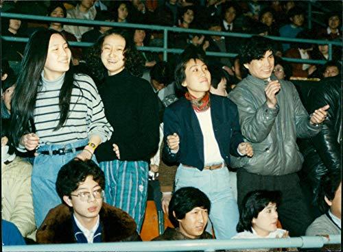 Noches de música moderna celebradas en Pekín - Vintage Press Photo