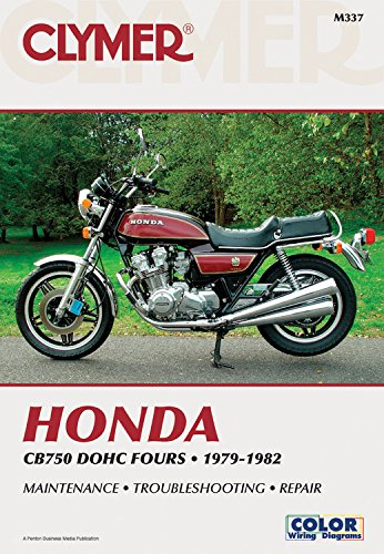Honda CB750 DOHC Fours, 1979-82: Clymer Workshop Manual