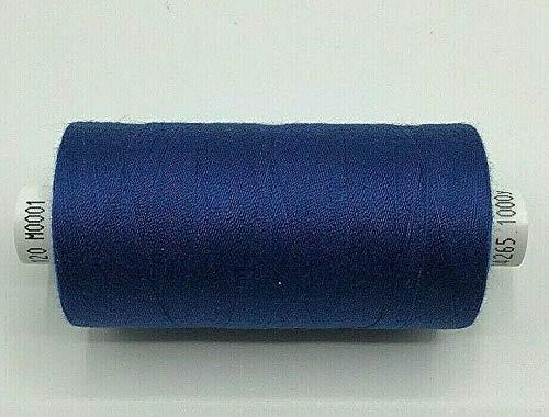 Royal Coats Moon - Máquina de coser (poliéster, hilo de algodón, 1000 yardas x 5 carretes