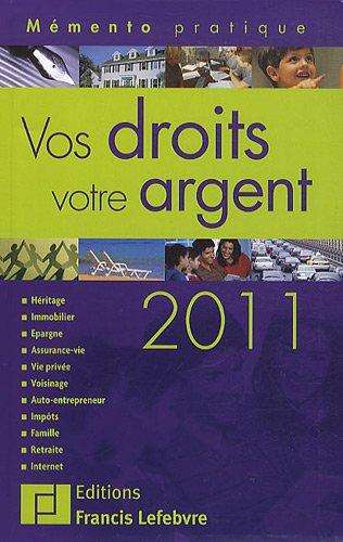 Mémento Vos droits, votre argent 2011