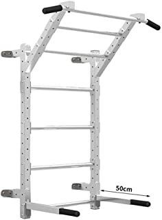 Dip Stands Home Fitness Multi-Position Horizontal bar Wall Parallel bar Pull-ups Ribbed Frame Rehabilitation Frame Strength Training Equipment