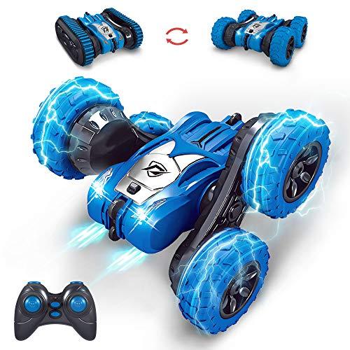 MissCat RC Cars Remote Control Car, RC Stunt Car for Kids 4WD 2.4Ghz Truck & Wheels Convert...