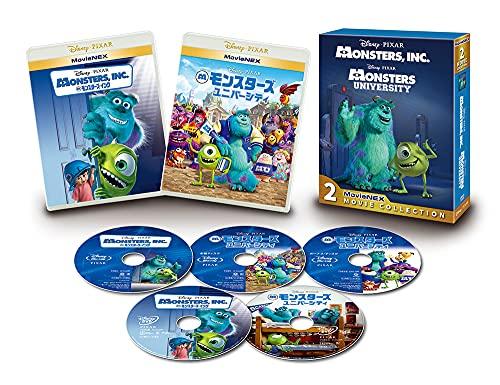 モンスターズ・インク MovieNEX 2ムービー・コレクション(期間限定) [Blu-ray]