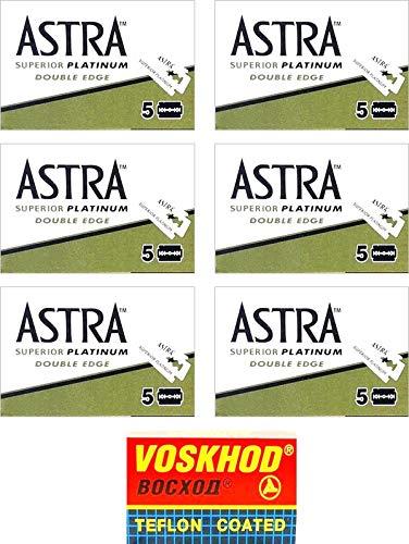 30 Lamette Astra Platinum + 1 lametta Voskhod