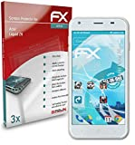 atFolix Schutzfolie kompatibel mit Acer Liquid Z6 Folie, ultraklare & Flexible FX Bildschirmschutzfolie (3X)