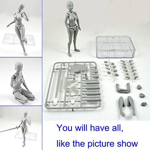 Starmood Figura de acción Modelo para SHF Body Kun Doll PVC Body-Chan DX Set 2.0