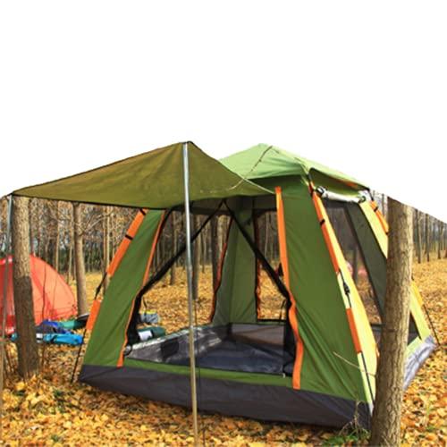 Tende da spiaggia Sun Shade Shelter 3-4 persone Tenda automatica ispessimento impermeabile esterna campeggio campo tenda campeggio quattro lati maglia,