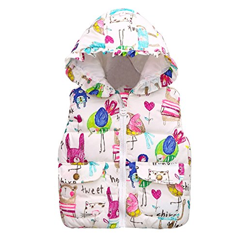 Baby Girls' Outerwear Vests