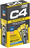 Cellucor C4 Sport PreWorkout On The Go Packets, Blue Raspberry, 3.1747 Ounce