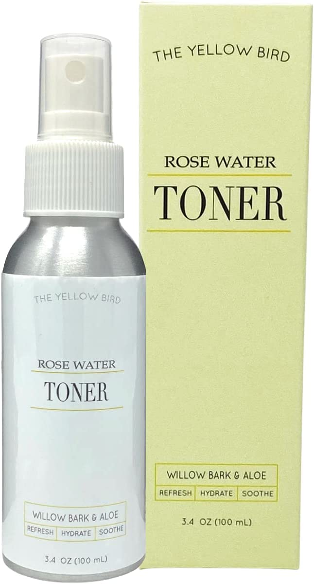 Yellow Bird Natural Rose Water Face Hydr Soothing Ranking TOP5 - Facial Toner Luxury
