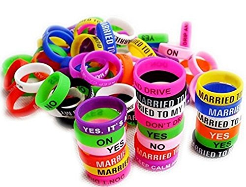 Vape Bands - Pack of 40 Vape Rings made with Silicone