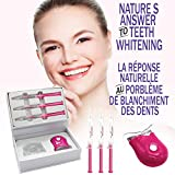 Kit de Blanchiment Dentaire | Gel Professionnel Sans Peroxyde| Blanchiment Des Dents...