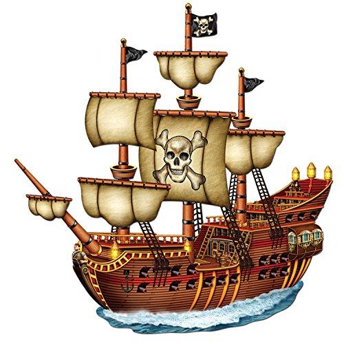 Beistle 50469 Piratenschiff, 79 cm