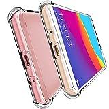 HUUH Funda Huawei Y5 Prime (2018) Huawei Honor 7S Huawei Y5 2018, Slim,TPU de Alta Transparencia Cubierta Protectora,sin deformación,Duradero,Cuatro Esquinas engrosadas