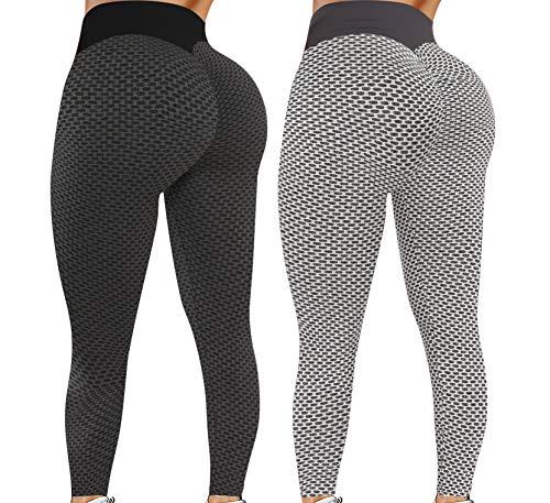 Leggings for Women Butt Lift - 2 Pa…