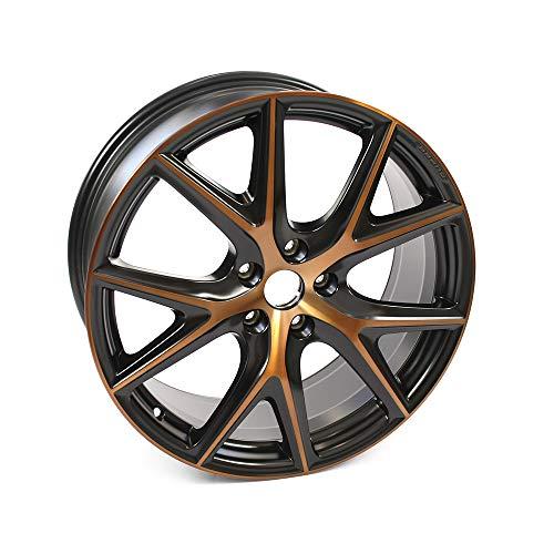 Seat 5F9071499AHPN Aluminiumfelge 19 Zoll Tuning Leichtmetallfelge Sport Felge Schwarz/Kupfer Cupra R Design