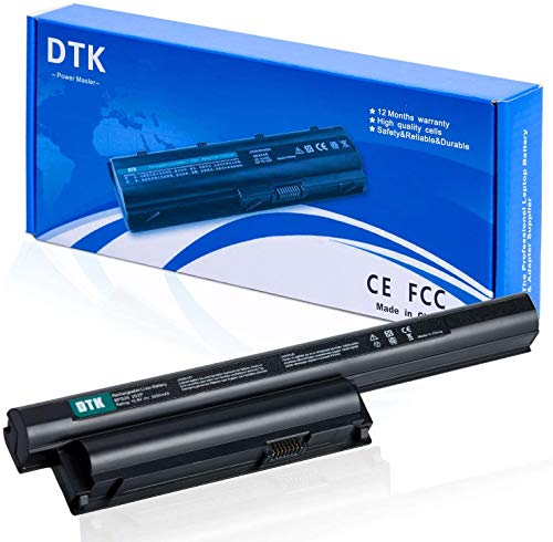 DTK Laptop Akku für Sony VAIO BPS26 VGP-BPS26 VGP-BPS26A VGP-BPL26 PCG-71614M PCG-71811M PCG-71911M PCG-71911L PCG-71914L SVE151D11M VPCEH VPCCA VPC-CA15FG VPC-CA15FW VPC-CA190 Serie [10.8V 5200mAh]