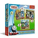 Trefl- Puzzle, Multicolore, 34821