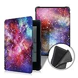 XIHAMA For Kindle Paperwhiteケース 軽量 保護カバー オートスリープ対応 キンドルケース 第5世代、第6世代、第7世代、マンガモデル 対応 キンドルペーパーホワイト モデル カバー (Galaxy)