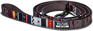 Wolfgang Man & Beast Dog Leash   Durable Webbing Leashes - NativeLines Print - Matching Collection w/Collar, Leash, Harness