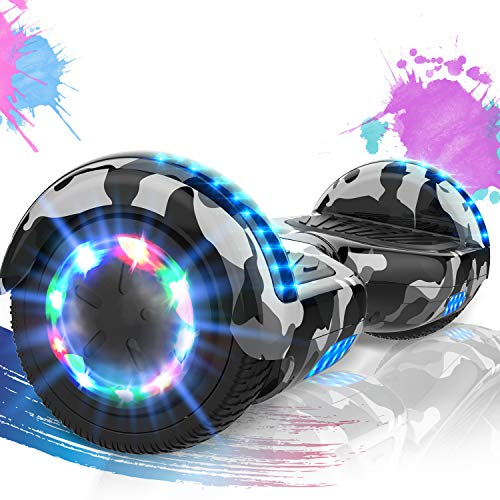 SOUTHERN WOLF Hoverboards 6.5 Zoll-LED & Bluetooth...
