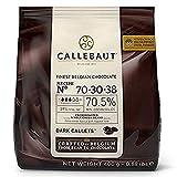 Chocolate negro en gotas Callebaut 70% bolsa de 400 gramos