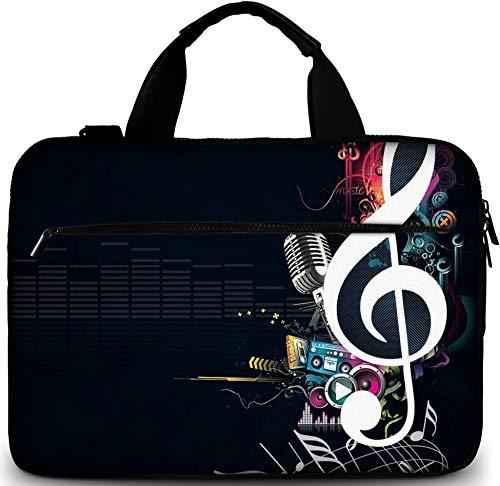 Sidorenko Laptoptasche 17/17,3 Zoll - Moderne Notebooktasche aus Canvas - Hochwertige Laptop Tasche - Schmutz- und Wasserabweisende Laptop Bag mit Zubehörfach