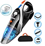 Handheld Vacuum, LOZAYI 7KPA Hand Vacuum Cordless with Stronger Cyclonic Suction,Rechargeable Li-ion Battery...