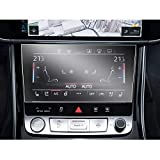SHAOAHO Auto Navigation Schutzfolie für A8 e-tron Q8 GPS PET Transparent Bildschirmschutzfolie 4H Kratzfest Anti-Fingerprint Folie [2 Stück]
