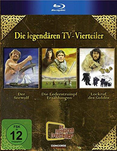 Die legendären TV-Vierteiler - Box [Blu-ray]