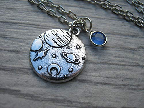 Personalized Galaxy Necklace
