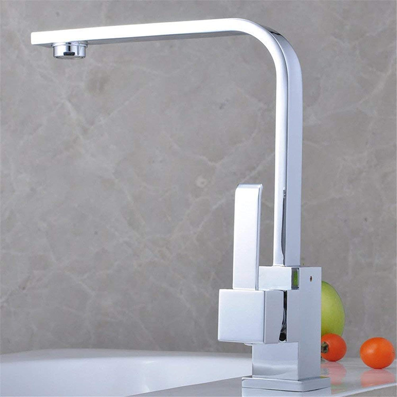 Owents360 ° drehbaren Wasserhahn Retro Faucetretro Sanitr Sanitrkeramik Küche Kupfer verchromt warmen und kalten Wasserhahn Wasserhahn