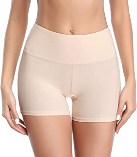 Joyshaper Unter Rock Kurz Hose Damen Miederhose Miederslip Miederpants Yoga Shorts Nahtlose Boyshort Panty Unterwäsche Weich Elastisch Leicht
