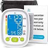 Greater Goods Wrist Blood Pressure Monitor - Backlit Digital BPM for Home or On-The-Go, Premium Cuff | Designed in St. Louis