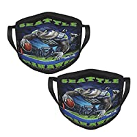 Material: The Fabric Is Soft And Comfortable, Environmentally Friendly, Healthy, Soft, Comfortable And Breathable, Which Can Provide Excellent Results. Various Occasions: The New And Reusable Washable Cloth Mask Makes You Look Cool. Fishing, Running,...