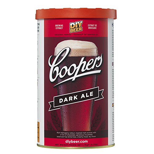 COOPERS Dark Ale Malto 1,7kg in Formato Latina, Multicolore, Unica