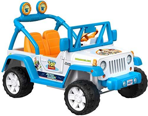 Toy Story Jeep Wrangler Power Wheels (Disney Pixar)