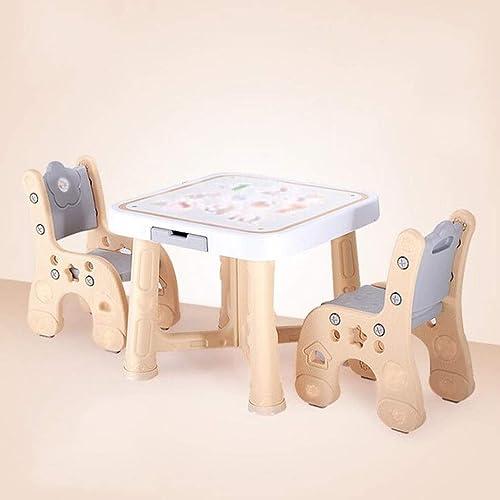 bajo precio del 40% Juego de sillas de mesa mesa mesa de actividades Mesa de estudio y silla para Niños Bebé Juego de mesa de madera para dibujar Juego para Niños pequeños Mesa de dibujo Silla de mesa para Niños pequeños Juego de  para proporcionarle una compra en línea agradable