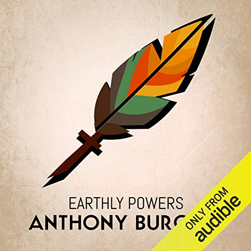 Earthly Powers audiobook cover art