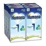 Humana Anfangsmilch 1 trinkfertig, 8er Pack (8 x 450 ml) -