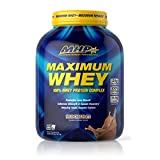 Maximum Human Performance Maximum Whey Protein, 25g Fast Acting Delicious Tasting Protein, Enhances Strength & Speeds Recovery, Milk Chocolate, 50 Servings, 5 Pound (Pack of 1)