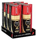 NESCAFÉ GOLD Typ ESPRESSO (inklusive Espresso Red Mug), (hochwertiger Espresso aus löslichem Bohnenkaffee mit 100 % feinen Arabica Kaffeebohnen, mit samtiger Crema) 6er Pack (6 x 100g)