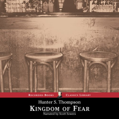 Kingdom of Fear audiobook cover art