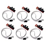 HESAI CNC 3D Printer Mechanical Optical Limit Switch Endstop with Cable for Ramps 1.4 Makerbot Prusa Mendel RepRap (Pack of 6pcs)