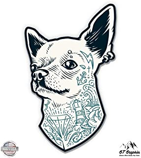 GT Graphics Chihuahua Cool - Vinyl Sticker Waterproof Decal