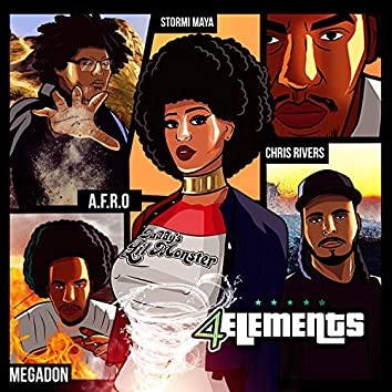 4 Elements (feat. Afro, Chris Rivers & Megadon)