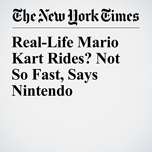 Real-Life Mario Kart Rides? Not So Fast, Says Nintendo copertina