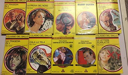 Elley Queen collezione 10 volumi come da foto