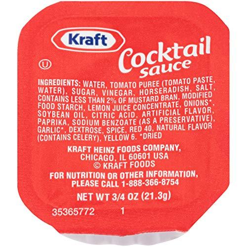 Kraft Cocktail Sauce Single Serve Packet (0.75 oz Packet, Pack of 200)